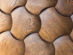 Rivestimento tridimensionale modulare in legnoPORTLAND - NEXT LEVEL DESIGN STUDIO
