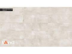 Rivestimento in gres porcellanato tecnico effetto cemento PORTLAND SLIM IVORY - PORTLAND