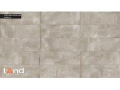 Land Porcelanico, PORTLAND SLIM VISON Rivestimento in gres porcellanato tecnico effetto cemento