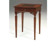 Tavolino quadrato in legno massello PORTO - Canaletto