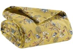 Copriletto in cotone con motivi florealiPORTO | Copriletto - VIVARAISE