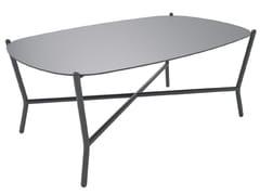 Tavolino da giardino in alluminio PORTOFINO 100 - Portofino