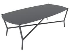 Tavolino da giardino in alluminio PORTOFINO 120 - Portofino