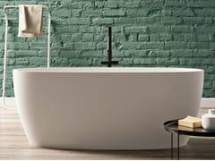 Vasca da bagno ovale in BluStonePORTOFINO - BLUBLEU