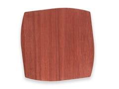 Sottobicchiere in legnoPORTOFINO BRICK RED TULIPIÈ | Sottobicchiere - LEONARDO TRADE