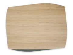 Tovaglietta rettangolare in legnoPORTOFINO OAK DARK GREEN ASH | Tovaglietta rettangolare - LEONARDO TRADE