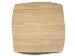 Tovaglietta quadrata in legnoPORTOFINO OAK DARK GREEN ASH | Tovaglietta quadrata - LEONARDO TRADE