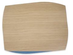 Tovaglietta rettangolare in legnoPORTOFINO OAK LIGHT BLUE TAY | Tovaglietta rettangolare - LEONARDO TRADE