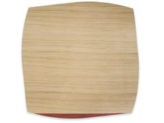 Tovaglietta quadrata in legnoPORTOFINO OAK RED BRICK TULIPIÈ | Tovaglietta quadrata - LEONARDO TRADE
