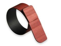 Portatovagliolo in legnoPORTOFINO RED BRICK TULIPIÈ | Portatovagliolo - LEONARDO TRADE