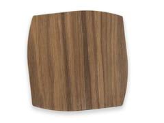Sottobicchiere in legnoPORTOFINO WALNUT | Sottobicchiere - LEONARDO TRADE