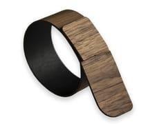 Portatovagliolo in legnoPORTOFINO WALNUT | Portatovagliolo - LEONARDO TRADE
