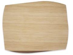 Tovaglietta rettangolare in legnoPORTOFINO WALNUT | Tovaglietta rettangolare - LEONARDO TRADE
