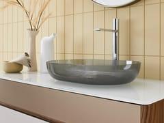 Lavabo da appoggio ovale singolo in cristalloPORTOFINO | Lavabo - ARTELINEA