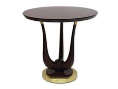 Tavolino rotondo in legno masselloPOSEIDON | Tavolino in legno massello - FRATELLI BOFFI