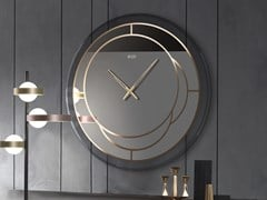 Orologio in vetro a specchio da paretePOSITANO - RIFLESSI