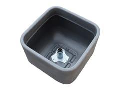 Accessorio per fontane in polietileneVaso in PE - COLORTAP