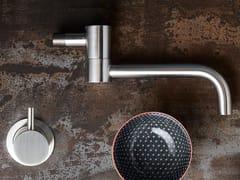 Rubinetto da cucina a muro professionale in acciaio inoxPOT FILLER 96103+6100 - MINA