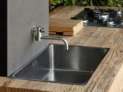 Rubinetto da cucina a muro professionale in acciaio inox con bocca girevolePOT FILLER 96111 - MINA
