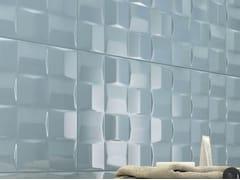 Rivestimento tridimensionale in ceramicaPOTTERY   Strut. Cube 3D Turqoise - MARAZZI GROUP