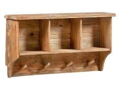 Appendiabiti da parete in legno masselloPOUCH - ARREDIORG