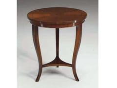 Tavolino rotondo in legno massello PRAGA - Canaletto