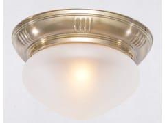 Plafoniera in ottonePRAGUE 25/1 - PATINAS LIGHTING
