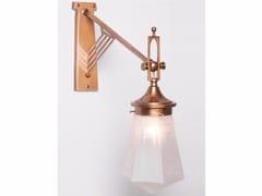 Lampada da parete a luce diretta fatta a mano in ottone PRAGUE VI | Lampada da parete - Prague