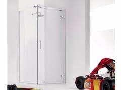 Box doccia in vetro con porta a battente PRAIA DESIGN - 1 - Praia Design