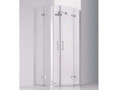 Box doccia semicircolare in vetro con porta a battente PRAIA DESIGN - 7 - Praia Design