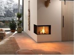 Inserto per camini a legna ad angolo Classe A+ PREMIUM V-2L/R-68h - Premium Edition