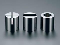 Set da scrivania a forma cilindrica in acciaio inoxPRIMARIO VESTIGE   Set da scrivania in acciaio inox - TAKEDA CO.
