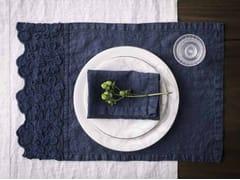 Tovaglietta rettangolare in lino PRIMULA | Tovaglietta - Decor