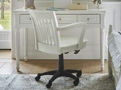 Sedia in legno ad altezza regolabile con ruotePRINCESS | Sedia - ARREDIORG