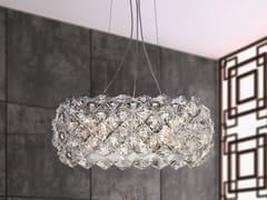 Lampada a sospensione con cristalliPRISMA 820 | Lampada a sospensione - PATRIZIA VOLPATO