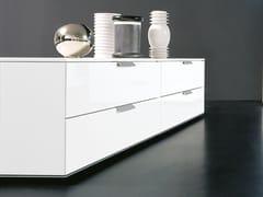 Cassettiera modulare in legno PRISMA | Cassettiera -