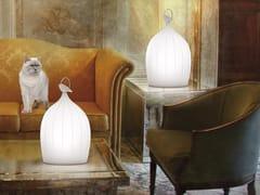 Lampada da tavolo a LED in porcellanaSMOON CAGE PORCELAIN - BEAU & BIEN