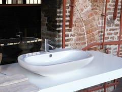 Miscelatore per lavabo da piano monocomando monoforo EL-X | Miscelatore per lavabo - EL-X