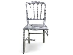 Sedia in alluminio con schienale apertoEMPORIUM - BOCA DO LOBO