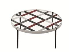 Tavolino rotondo in cristalloD.555.1 - MOLTENI & C.