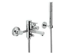 Miscelatore per vasca a muro con deviatore con doccetta MINI-X | Miscelatore per vasca - MINI-X