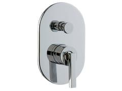 Miscelatore per vasca/doccia con piastra CUT | Miscelatore per doccia con piastra - Cut