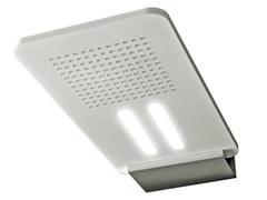 Soffione doccia a muro ultrapiatto con illuminazione LIGHT | Soffione doccia con illuminazione - Light