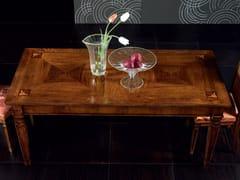 Tavolo allungabile rettangolare in legnoCA' VENIER | Tavolo rettangolare - CANTIERO