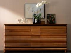 Madia in legno massello con ante a battente con cassettiELETTRA DAY | Madia - CANTIERO