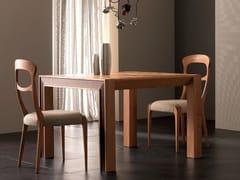 Tavolo allungabile rettangolare in legno masselloELETTRA DAY | Tavolo in legno massello - CANTIERO