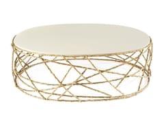 Tavolino ovale da salotto ROSEBUSH | Tavolino ovale - Earth to Earth