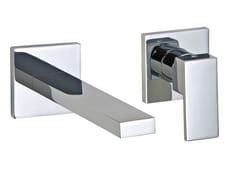 Miscelatore per lavabo a 2 fori a muro Q | Miscelatore per lavabo a muro - Q