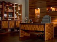 Scrivania rettangolare in legno masselloELETTRA DAY | Scrivania - CANTIERO