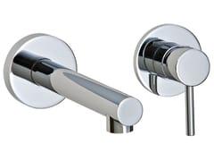 Miscelatore per lavabo a 2 fori a muro VELA | Miscelatore per lavabo a muro - Vela